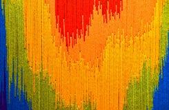 Abstract garenontwerp Royalty-vrije Stock Afbeelding