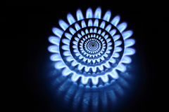 Abstract gas burners Royalty Free Stock Photos