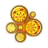 Abstract Gear Background Stock Photos