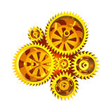 Abstract Gear Background Royalty Free Stock Image