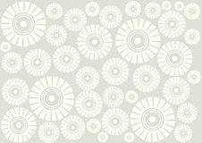 Abstract gear background Royalty Free Stock Photo