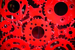 Abstract gear background Royalty Free Stock Photos