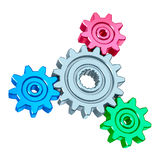 Abstract gears Stock Images