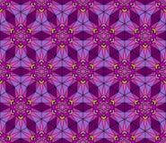 Abstract Gebrandschilderd glaspatroon royalty-vrije illustratie