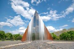 Abstract gedenkteken voor vrijheidsvechters Stock Afbeelding