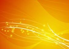 Abstract Geel Behang Als achtergrond Royalty-vrije Stock Fotografie