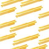 Abstract geel lijnpatroon royalty-vrije illustratie