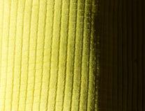 Abstract geel materiaal Stock Afbeelding