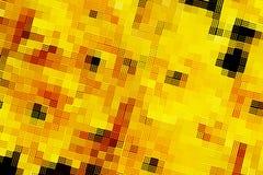 Abstract geel mozaïekblok Royalty-vrije Stock Afbeelding