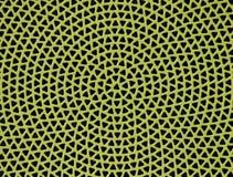 Abstract geel sprekersnetwerk Stock Foto