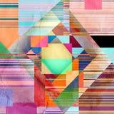 Abstract-gekleurde achtergrond Stock Fotografie