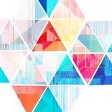 Abstract-gekleurde achtergrond Stock Foto's