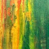 Abstract gekwetst canvas Royalty-vrije Stock Afbeeldingen