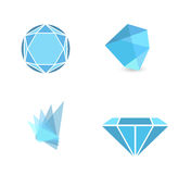 Abstract Gemstone Set Stock Photos