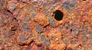Abstract generated textured rust metal surface background.  Stock Photography