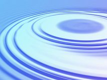 Abstract ripples Stock Photography