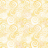 Abstract gentle seamless background. Abstract spiral seamless pattern. party background in 1960s style Royalty Free Illustration