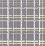 Abstract geoemtric fabric texture. tartan seamless pattern Stock Image