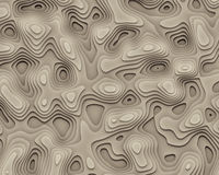 Abstract Geographic Curves Background. Bitmap Illustration of 3D Abstract Background (Geographic Curves stock illustration