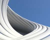 Abstract geometric architectural design Royalty Free Stock Photo