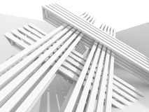 Abstract Geometric Architecture Structure Background Stock Photo