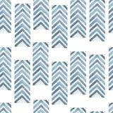 Abstract geometric arrow seamless pattern background.Line texture.zigzag background.for your design.Blue and grey arrow in stock illustration