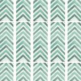 Abstract geometric arrow seamless pattern background.Line texture.zigzag background.for your design.Green arrow in vintage style. royalty free illustration