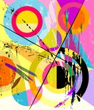 Abstract geometric art in the bauhaus tradition, vector illustration