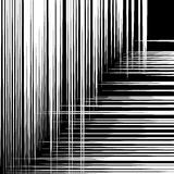 Abstract geometric art image. Monochrome, black and white backgr Royalty Free Stock Photography