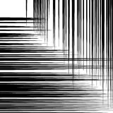Abstract geometric art image. Monochrome, black and white backgr Stock Photos