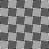 Abstract geometric art image. Monochrome, black and white Royalty Free Stock Photo