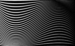 Abstract geometric art image. Monochrome, black and white Royalty Free Stock Photography