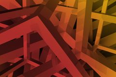 Abstract Geometric Backdrop Royalty Free Stock Image