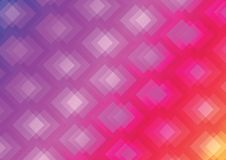 Abstract geometric background. Geometric color gradient. Diamond-shaped gradient background Stock Photography