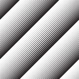 Abstract geometric background of black turning squares. Abstract seamless geometric background of black turning squares, halftone Royalty Free Stock Image