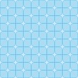 Abstract geometric background with blue squares. Seamless neutral background with blue squares. Abstract geometric pattern, illustration, vector image Stock Image