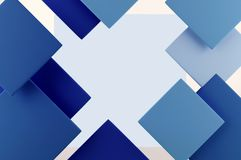 Abstract geometric background in blue tones. vector illustration