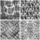 Abstract geometric background in classical style collection Royalty Free Stock Photos