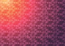 Abstract geometric background. Geometric color gradient. Triangle gradient background Royalty Free Stock Photo