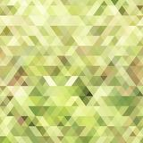 Abstract geometric background in the color of a green watermelon. Royalty Free Stock Image