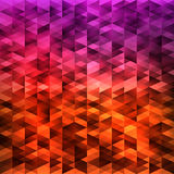 Abstract_geometric_background_colorful2 皇族释放例证