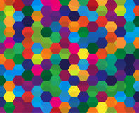 Abstract geometric background. Abstract colorful geometric background based grid. vector illustration Stock Photography