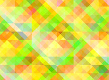 Abstract geometric background with colorful tiles Stock Photography