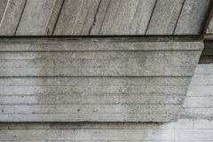 Abstract geometric background of the concrete. Stock Photos