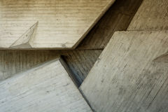 Abstract geometric background of the concrete Stock Image