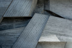 Abstract geometric background of the concrete Stock Photos