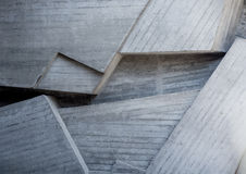 Abstract geometric background of the concrete Royalty Free Stock Photo