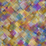 Abstract geometric background  consisting of overlapping square elements Stock Photos