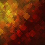Abstract geometric background  consisting of overlapping square elements Royalty Free Stock Photography