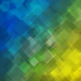Abstract geometric background  consisting of overlapping square elements Royalty Free Stock Photos